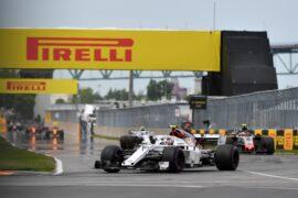 Charles Leclerc (MON) Alfa Romeo Sauber C37 at Formula One World Championship, Rd7, Canadian Grand Prix, Race, Montreal, Canada, Sunday10 June 2018.