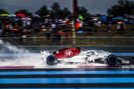 Charles Leclerc (MON) Alfa Romeo Sauber C37 at Formula One World Championship, Rd8, French Grand Prix, Qualifying, Paul Ricard, France, Saturday 23 June 2018.
