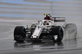 Charles Leclerc Sauber C37 at Formula One World Championship, Rd8, French Grand Prix, Qualifying, Paul Ricard, 2018