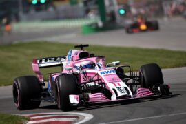 Sergio Perez (MEX) Sahara Force India F1 VJM11. Canadian Grand Prix 2018 Montreal, Canada.