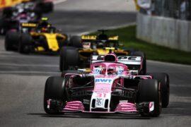 Esteban Ocon (FRA) Sahara Force India F1 VJM11. Canadian Grand Prix, Sunday 10th June 2018. Montreal, Canada.