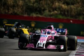 Sergio Perez (MEX) Sahara Force India F1 VJM11. French Grand Prix, Sunday 24th June 2018. Paul Ricard, France.