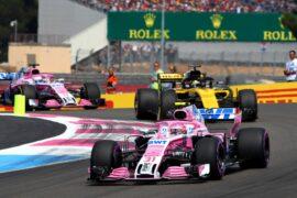 Esteban Ocon (FRA) Sahara Force India F1 VJM11. French Grand Prix, Sunday 24th June 2018. Paul Ricard, France.