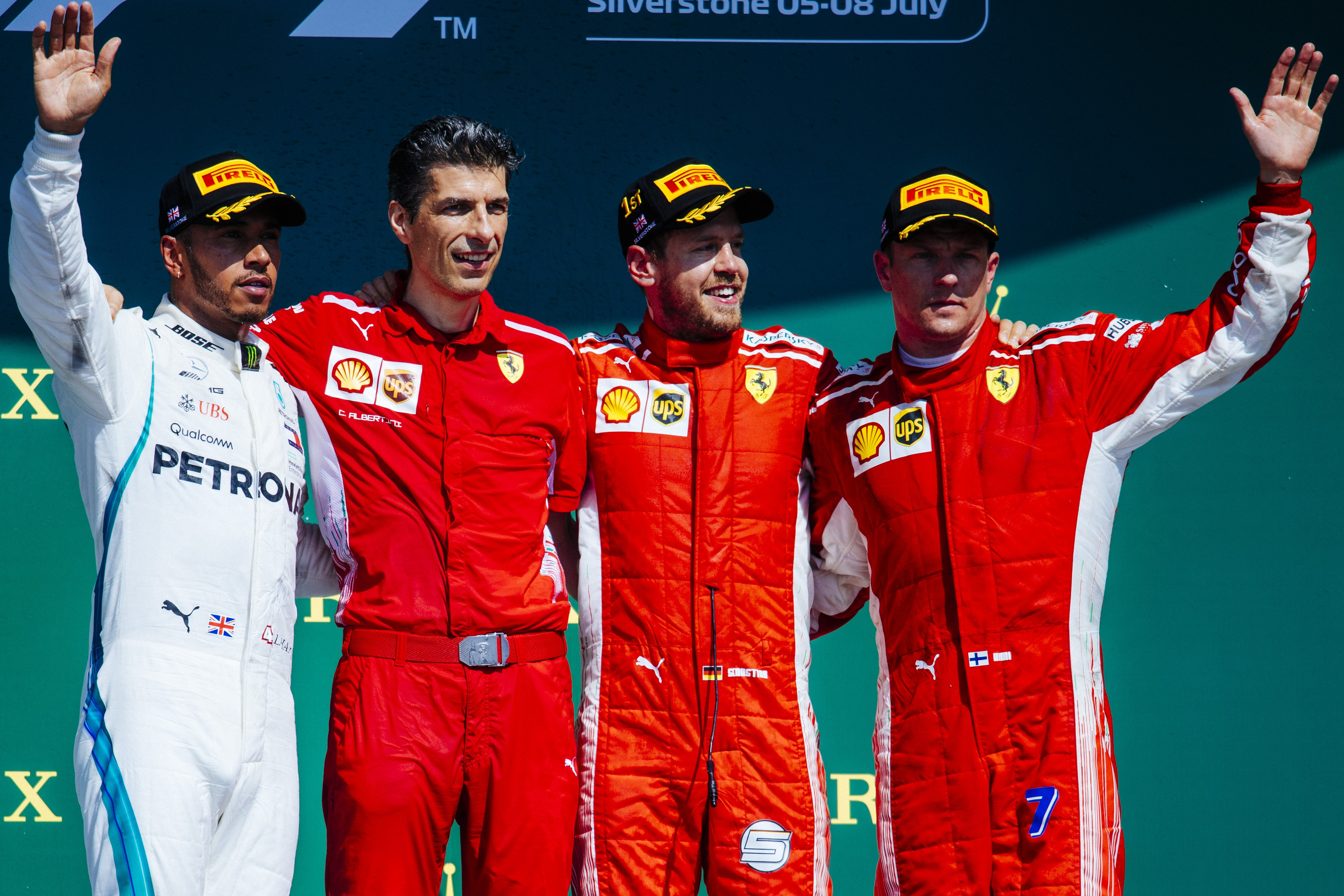 Race results 2018 British F1 grand prix