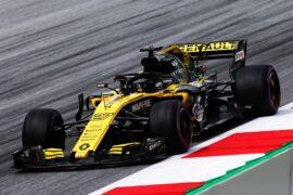 Nico Hulkenberg (GER) Renault Sport F1 Team RS18. Austrian Grand Prix, Friday 29th June 2018. Spielberg, Austria.