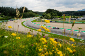 Pierre Gasly qualifying for the Formula One Grand Prix of Austria