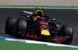 Lap times 2nd practice 2018 German F1 Grand Prix