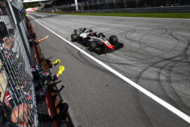Kevin Magnussen finishes 5th during the 2018 Austrian GP