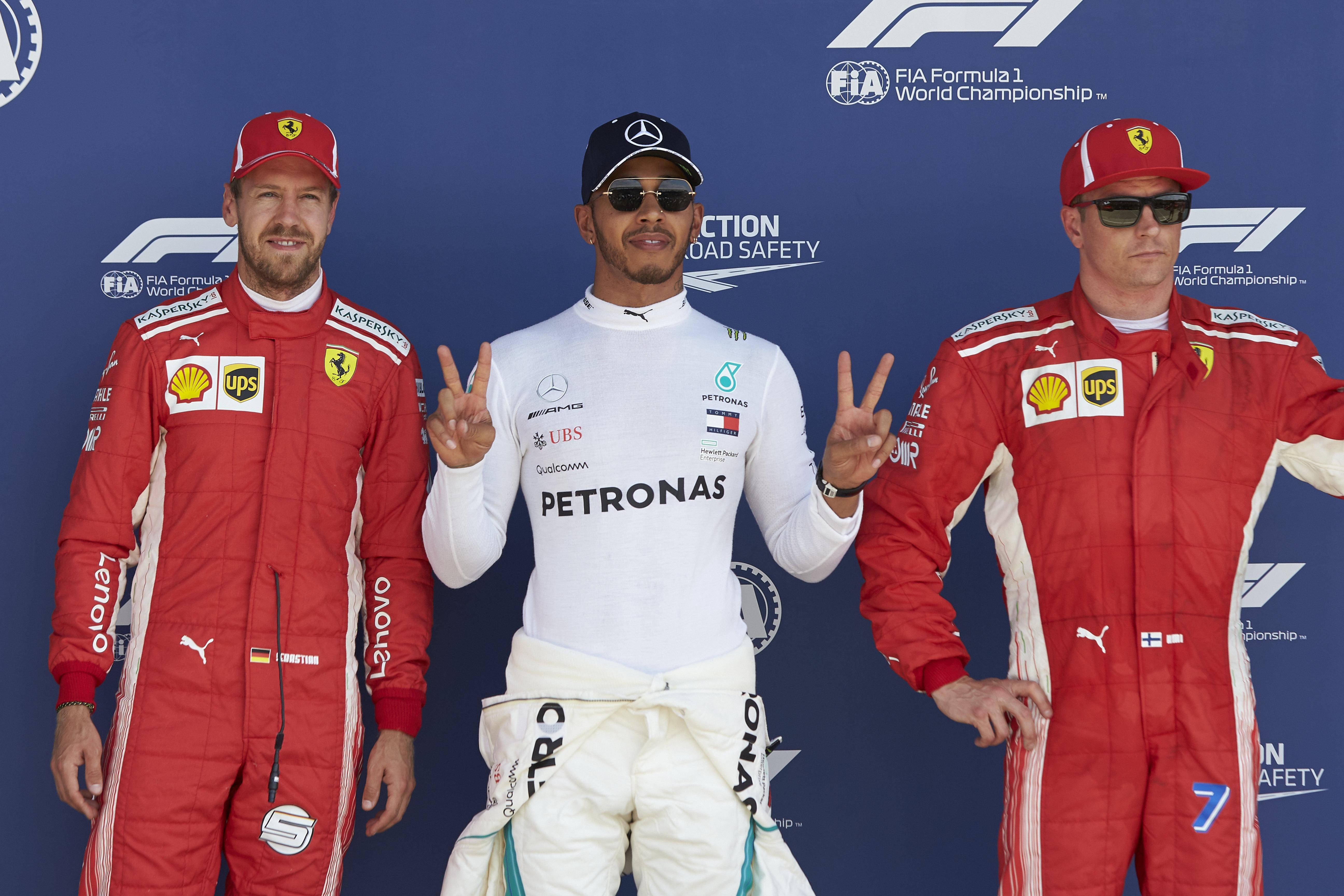 Qualifying results 2018 British F1 Grand Prix