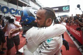 Formula One - Mercedes-AMG Petronas Motorsport, German GP 2018. Lewis Hamilton, Valtteri Bottas