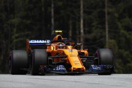 Red Bull Ring, Spielberg, Austria Saturday 30 June 2018. Stoffel Vandoorne, McLaren MCL33 Renault. Photo: Glenn Dunbar/McLaren ref: Digital Image _X4I0453