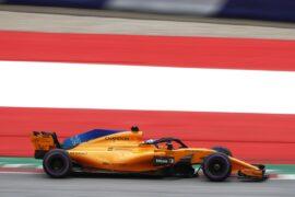 Red Bull Ring, Spielberg, Austria Saturday 30 June 2018. Fernando Alonso, McLaren MCL33 Renault. Photo: Glenn Dunbar/McLaren ref: Digital Image _31I1624A