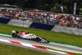 Charles Leclerc (MON) Alfa Romeo Sauber C37 at Formula One World Championship, Rd9, Austrian Grand Prix, Qualifying, Spielberg, Austria, Saturday 30 June 2018.