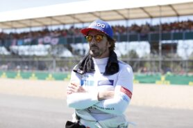 Alonso no fan of proposed new points system