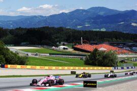 Esteban Ocon (FRA) Sahara Force India F1 VJM11. Austrian Grand Prix, Sunday 1st July 2018. Spielberg, Austria.