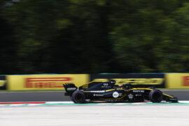 Carlos Sainz Renault Hungarian GP F1/2018