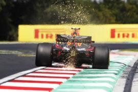 Max Verstappen Red Bull Hungarian GP F1/2018