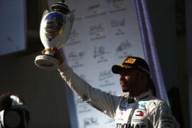 Lewis Hamilton Mercedes winner Hungarian GP F1/2018