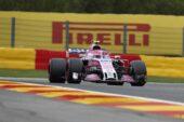 Esteban Ocon Racing point Force India Belgian GP F1/2018