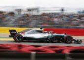 Lewis Hamilton Mercedes Belgian GP F1/2018