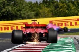Ferrari obstructing camera view in Singapore