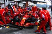 Kimi Raikkonen Ferrari Belgian GP F1/2018