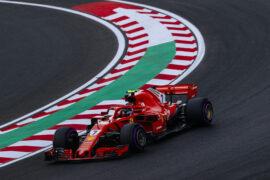 Kimi Raikkonen Ferrari Hungarian GP F1/2018