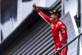 Sebastian Vettel Ferrari winner Belgian GP F1 2018