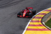 Sebastian Vettel Ferrari Belgian GP F1/2018