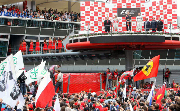 Results 2008 Formula 1 Grand Prix of Italy