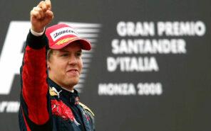 First win of Vettel & Toro Rosso 2008 Italian GP
