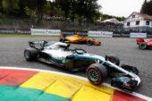 Valtteri Bottas Mercedes Belgian GP F1/2018