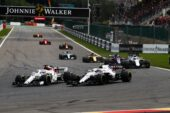 Drivers on track Belgian GP F1/2018