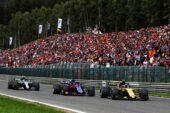 Carlos Sainz Jr (ESP) Renault Sport F1 Team RS18. Belgian Grand Prix, Sunday 26th August 2018. Spa-Francorchamps, Belgium.