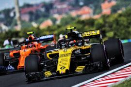 Carlos Sainz Jr (ESP) Renault Sport F1 Team RS18. Hungarian Grand Prix, 2018 Budapest, Hungary.
