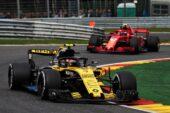 Carlos Sainz Jr (ESP) Renault Sport F1 Team RCarlos Sainz Jr (ESP) Renault Sport F1 Team RS18. Belgian Grand Prix 2018.S18. Belgian Grand Prix 2018.