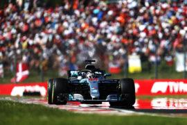 Lewis Hamilton Mercedes Hungarian GP F1/2018