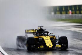 Nico Hulkenberg (GER) Renault Sport F1 Team RS18. Hungarian Grand Prix, Saturday 28th July 2018. Budapest, Hungary.