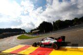 Kevin Magnussen Haas on track Belgian GP F1/2018