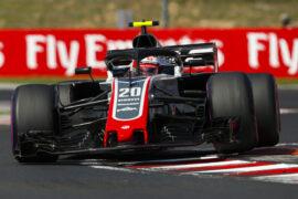 Kevin Magnussen Haas Hungarian GP F1/2018