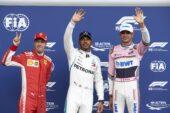 Qualifying results 2018 Belgian F1 Grand Prix