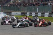 Drivers on track Lewis Hamilton, Sebastian Vettel etc. Belgian GP F1/2018