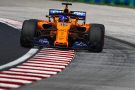 Hungaroring, Budapest, Hungary 2018. Fernando Alonso, McLaren MCL33 Renault.