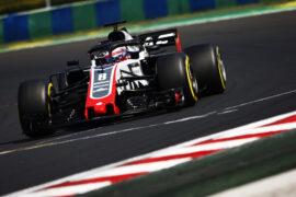 Romain Grosjean Haas on speed Hungarian GP F1/2018