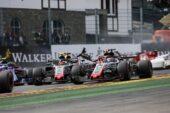 Teammates Haas in BelgianGP F1/2018