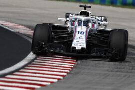 Hungaroring, Budapest, Hungary. Friday 27 July 2018. Lance Stroll, Williams FW41 Mercedes.