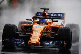 Hungaroring, Budapest, Hungary. Saturday 28 July 2018. Fernando Alonso, McLaren MCL33 Renault.