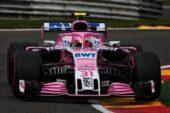Esteban Ocon (FRA) Racing Point Force India F1 VJM11. Belgian Grand Prix 2018