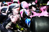 The Racing Point Force India F1 Team practices a pit stop. Belgian Grand Prix, Sunday 26th August 2018. Spa-Francorchamps, Belgium.