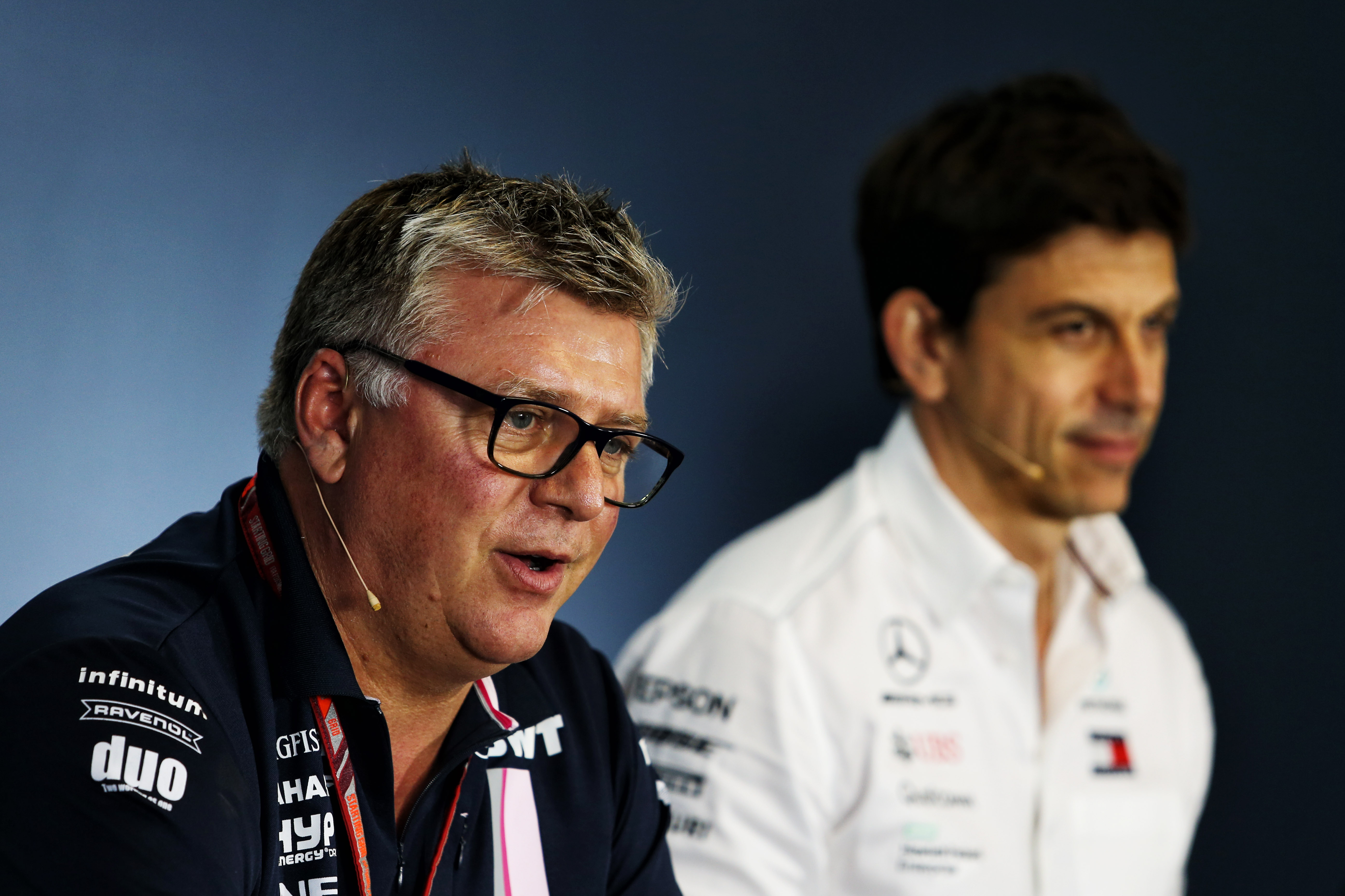 Boss: Wolff not getting involved at Racing Point